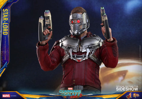 Star-Lord Guardians of the Galaxy Vol. 2 1/6 scale figure by Hot Toys - Collectors Row Inc.