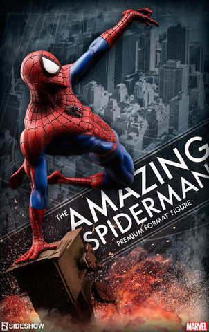 Amazing Spider-man Premium Format Figure Limited Edition by Sideshow Collectibles - Collectors Row Inc.