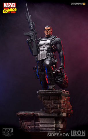Iron Studios Punisher Legacy Replica Marvel Sideshow Statue - Collectors Row Inc.