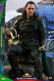 Hot Toys Loki Thor: Ragnarok - Movie Masterpiece Series - Sixth Scale Figure - Collectors Row Inc.