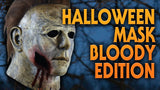 Michael Myers Halloween 2018 Bloody Variant Mask Officially Licensed by Trick or Treat Studios - Collectors Row Inc.