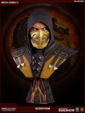 Mortal Kombat X - Life-Size Bust by Pop Culture Shock PCS - Collectors Row Inc.