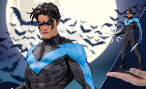 DC Nightwing Designer Series Statue by Jim Lee - Collectors Row Inc.