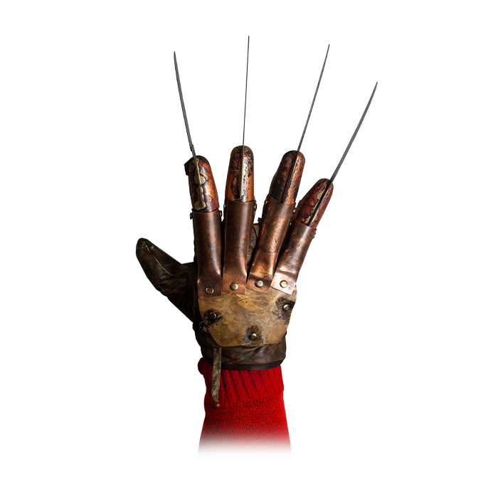 A NIGHTMARE ON ELM STREET - DELUXE FREDDY KRUEGER GLOVE - Springwood Slasher - Collectors Row Inc.