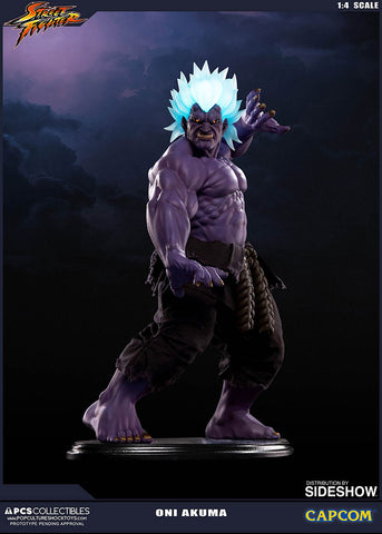 PCS Street Fighter Oni Akuma 1:4 Scale Figure Statue Pop Culture Shock