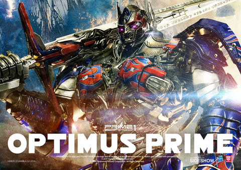 Optimus Prime--Transformers: The Last Knight - Statue by Prime 1 - Collectors Row Inc.
