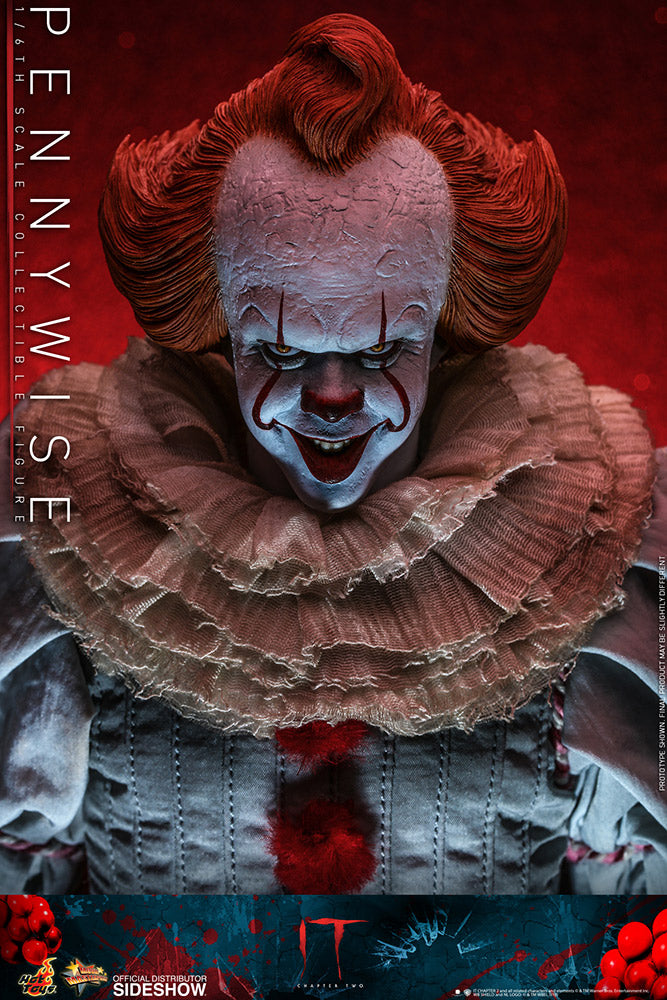 Pennywise IT Chapter Two Sixth Scale Figure - Collectors Row Inc.