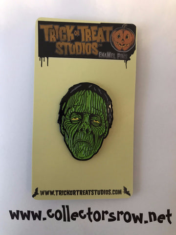 RADIO ACTIVE ZOMBIE Enamel Pin Officially Licensed by Trick or Treat Studios - Collectors Row Inc.