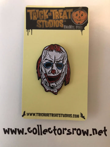 CLOWN SKINNER Enamel Pin Officially Licensed by Trick or Treat Studios - Collectors Row Inc.