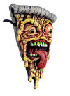 Trick or Treat Studios Pizza Fiend Face Jimbo Phillips Adult Latex Mask Food - Collectors Row Inc.