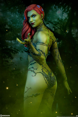 DC Comics Poison Ivy Premium Format Figure Batman Statue By Sideshow Collectibles - Collectors Row Inc.