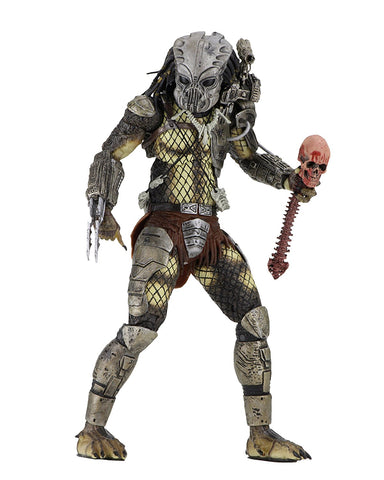 "NECA Predator - 7"" Scale Action Figure - 30th Anniversary Jungle Hunter Masked - Collectors Row Inc."