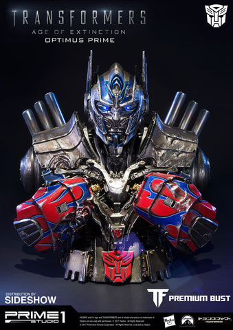 Optimus Prime Damaged Version Transformers: Age of Extinction Bust by Prime 1 Studio - Collectors Row Inc.