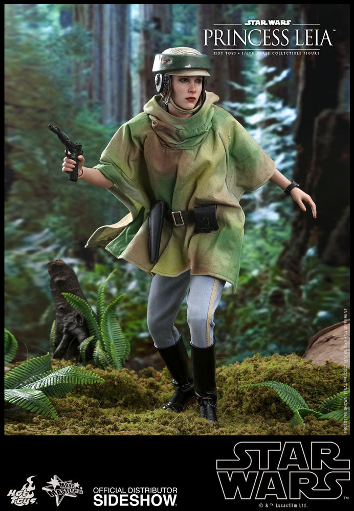 Princess Leia Organa Return of the Jedi Endor Outfit Sixth Scale Figure - Collectors Row Inc.