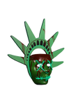 The Purge: Election Year Lady Liberty Light Up Mask by Trick or Treat Studios - Collectors Row Inc.