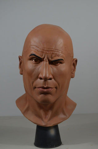 The Rock WWE Adult Halloween Mask Trick or treat Studios - Collectors Row Inc.