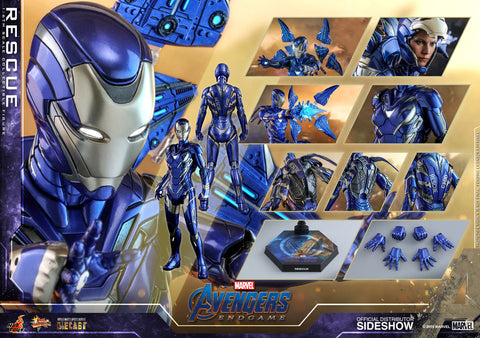 Hot Toys Rescue Pepper Potts Marvel Avengers: Endgame Sixth Scale Figure - Collectors Row Inc.