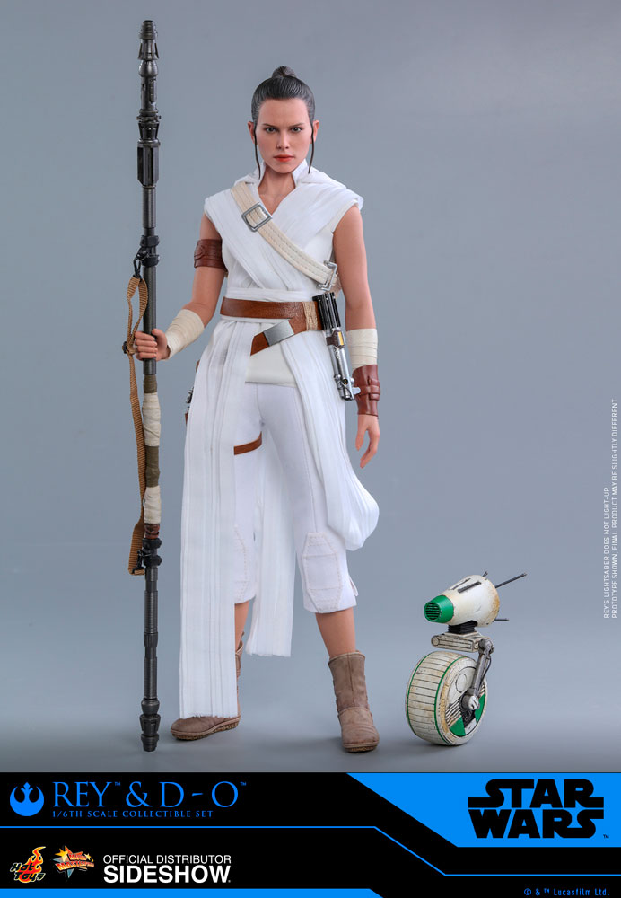 Rey and D-O The Rise of Skywalker Sixth Scale Figure Set - Collectors Row Inc.