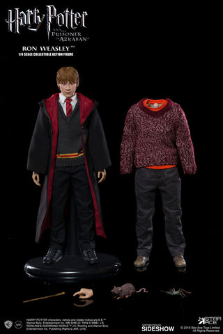 Star Ace Ron Weasley Deluxe Harry Potter and the Prisoner of Azkaban - Sixth Scale Figure - Collectors Row Inc.