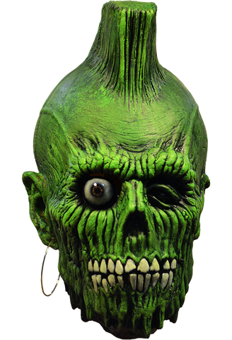 Return of the Living Dead Mohawk Zombie Mask by Trick or Treat Studios