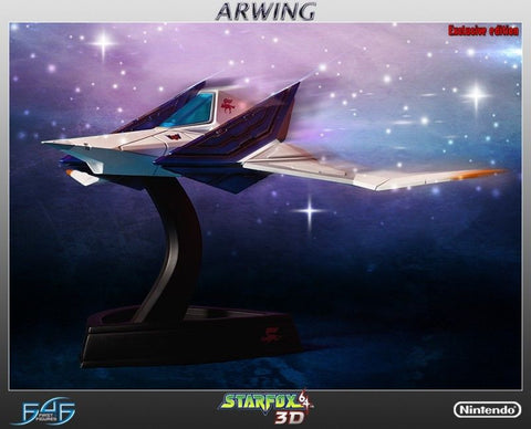 Starfox Arwing Statue by F4F First 4 Figures - Collectors Row Inc.