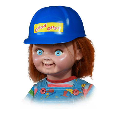 Chucky Good Guys Doll Helmet Prop by Trick or Treat Studios - Collectors Row Inc.