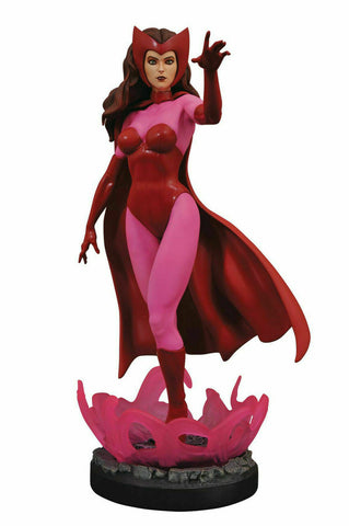 Marvel Premiere Scarlet Witch Statue Diamond Select Avengers - Collectors Row Inc.