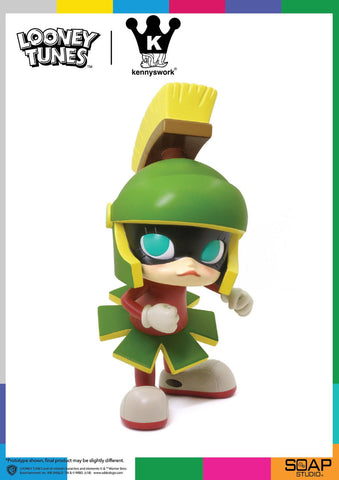 Looney Tunes Marvin The Martian Molly Vinyl Figure Get Animated x Kennyswork - Collectors Row Inc.