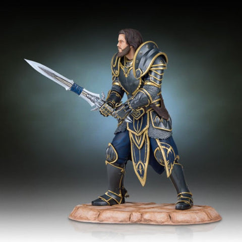 World of Warcraft Lothar Statue by Gentle Giant