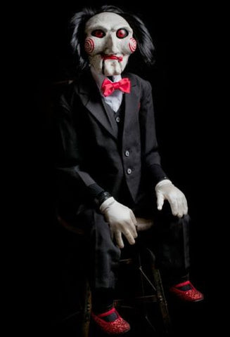 Saw Billy Jigsaw Puppet Prop by Trick or Treat Studios - Collectors Row Inc.