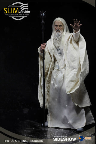 Asmus Saruman the White Memorial Slim Version Sixth Scale Figure LOTR - Collectors Row Inc.