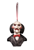 SAW Billy Puppet Ornament Holiday Horrors by Trick or Treat Studios - Collectors Row Inc.