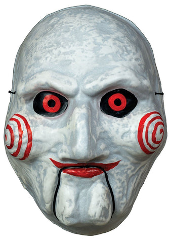 Adult Saw Billy Puppet Vacuform Mask Standard by Trick or Treat Studios - Collectors Row Inc.