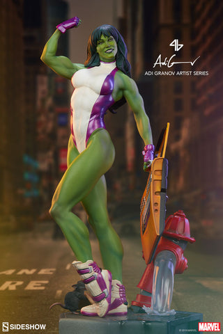 She-Hulk Marvel Statue Adi Granov Artist Series by Sideshow Collectibles