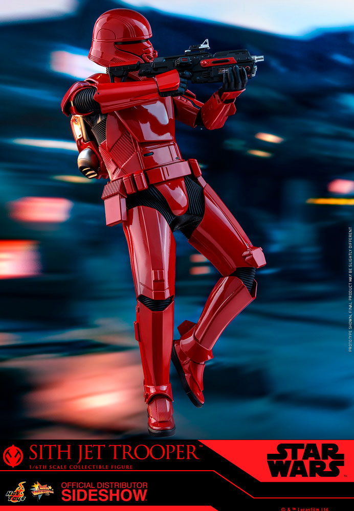 Sith Jet Trooper The Rise of Skywalker Sixth Scale Figure - Collectors Row Inc.