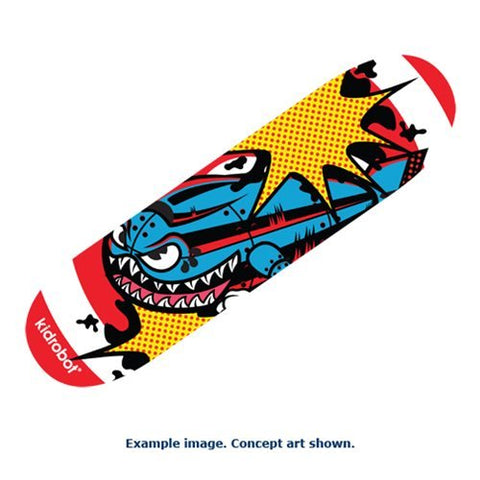 Kidrobot Bomb Skateboard Deck - Collectors Row Inc.