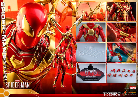 Hot Toys Spider-Man (Iron Spider Armor) Amazing Spider-Man Marvel Sixth Scale Figure