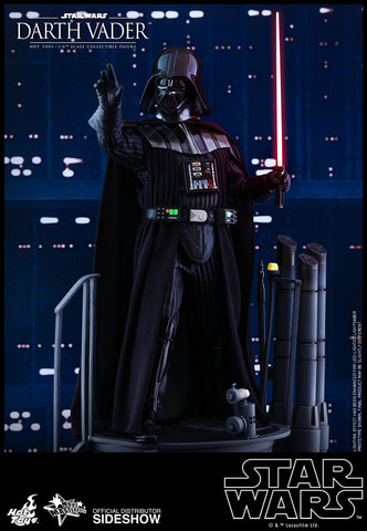 Hot Toys Darth Vader Episode V: The Empire Strikes Back - Movie Masterpiece Series - Sixth Scale Figure - Collectors Row Inc.