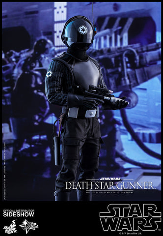 Death Star Gunner Episode IV: A New Hope Movie Masterpiece Series 1/6 Scale Figure by Hot Toys - Collectors Row Inc.