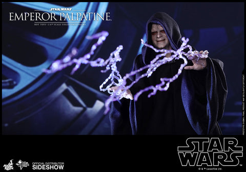 Hot Toys Emperor Palpatine Episode VI: Return of the Jedi - Movie Masterpiece Series - Sixth Scale Figure