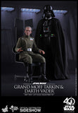 Hot Toys Grand Moff Tarkin and Darth Vader Episode IV: A New Hope Sixth Scale Figure - Collectors Row Inc.