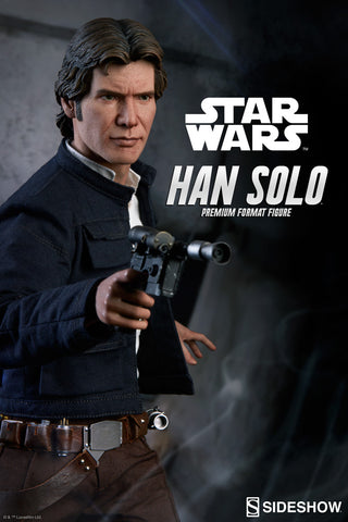 Sideshow Collectibles Han Solo Star Wars Statue Premium Format Figure - Collectors Row Inc.