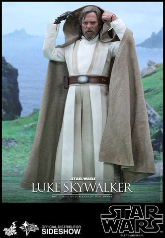 Luke Skywalker Star Wars: The Force Awakens Movie Masterpiece Series 1/6 Scale Figure by Hot Toys - Collectors Row Inc.