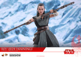 Hot Toys Rey Jedi Training Star Wars: The Last Jedi - Movie Masterpiece Series - Sixth Scale Figure - Collectors Row Inc.