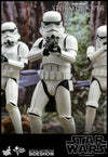 Hot Toys Star Wars Classic Stormtrooper Deluxe Version Movie Masterpiece Series - Sixth Scale Figure - Collectors Row Inc.