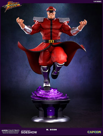 PCS M. Bison-Street Fighter V - Statue by Pop Culture Shock - Collectors Row Inc.