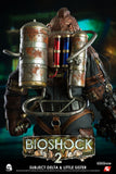 Bioshock Subject Delta and Little Sister Sixth Scale Figure by Threezero - Collectors Row Inc.