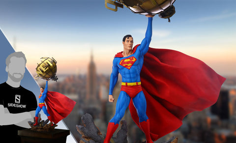 Superman DC Comics 1/6 Scale Statue by Grand Jester Studios - Collectors Row Inc.