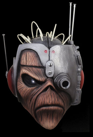 Iron Maiden Somewhere in Time Eddie Mask by Trick or Treat Studios - Collectors Row Inc.