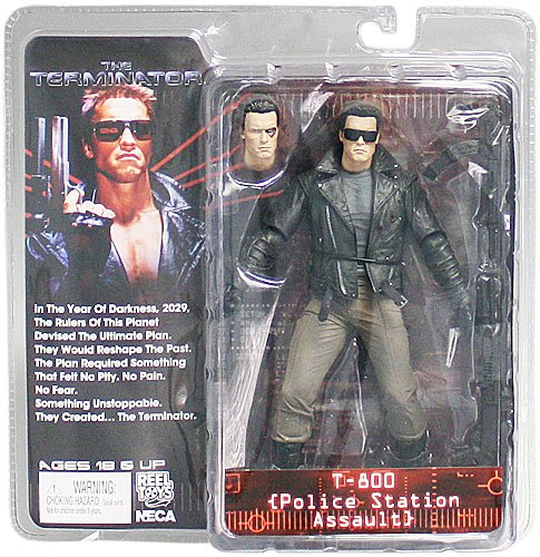 NECA 7 Inch Terminator Collection Series 2 Police Station Assault T-800 Action Figure - Collectors Row Inc.